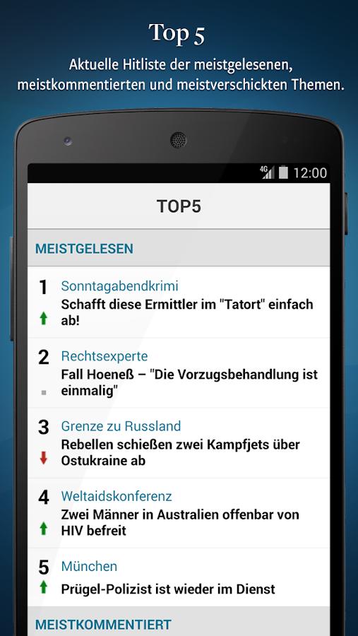DIE WELT- Aktuelle Nachrichten - screenshot