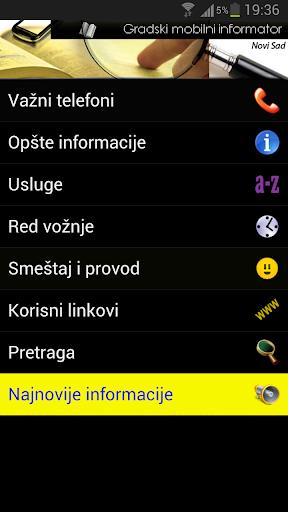Novi Sad - Gradski informator