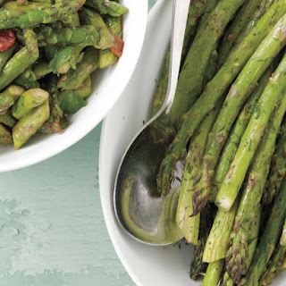 Roasted Asparagus with Lemon and Dill