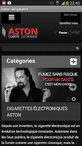 ASTON Cigarette électronique screenshot 0