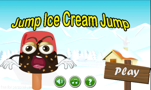 Jumping Ice Cream Jump - Free