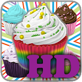 Cupcakes Memory HD for Kids