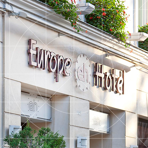 Europe Hotel Paris LOGO-APP點子