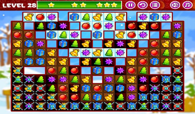 Christmas Sweeper - Match 3 - screenshot