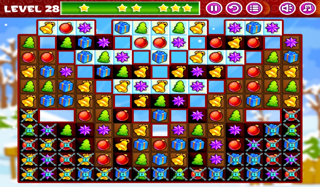 Christmas Sweeper - Match 3- screenshot
