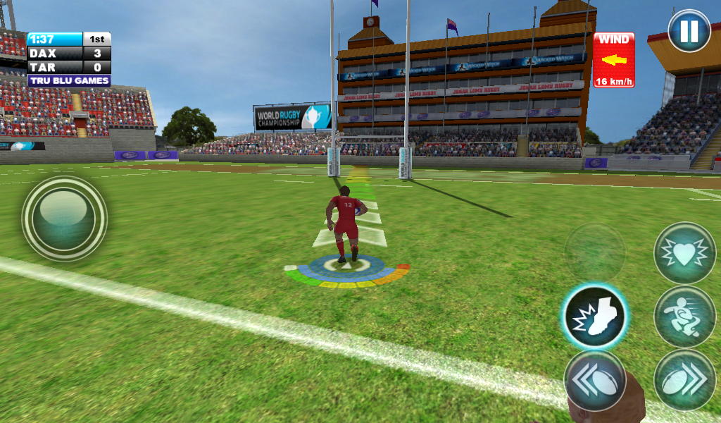 Jonah Lomu Rugby: Gold Edition - screenshot