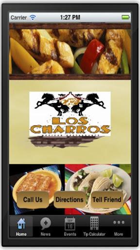 【免費旅遊App】Los Charros Mexican- Conyers-APP點子