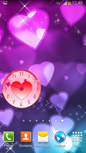 心 時鐘 小工具|玩個人化App免費|玩APPs