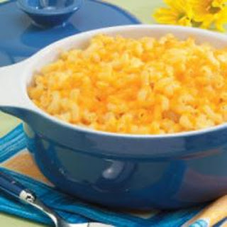 Triple-Cheese Macaroni.