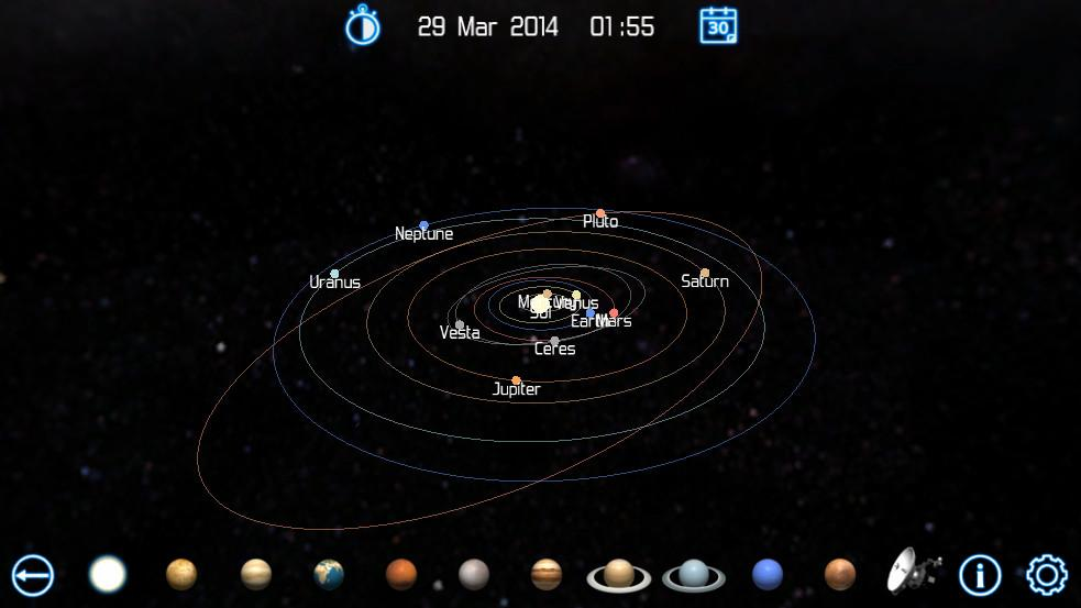 online 3d solar system explore - photo #27