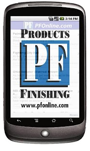 Products Finishing Magazine - screenshot thumbnail