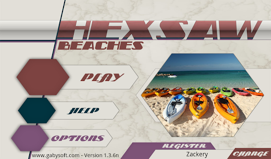 HexSaw - Beaches- screenshot thumbnail