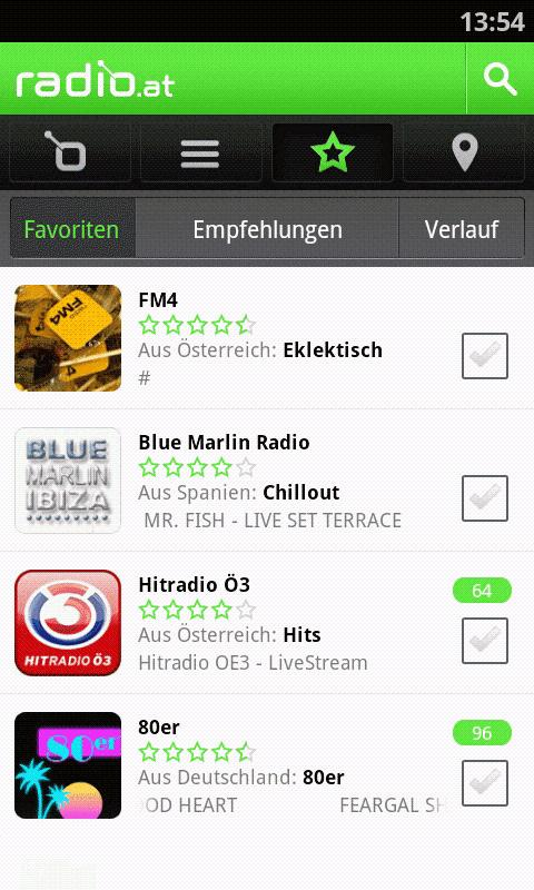 radio.at - screenshot