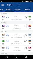 Screenshot of League Live