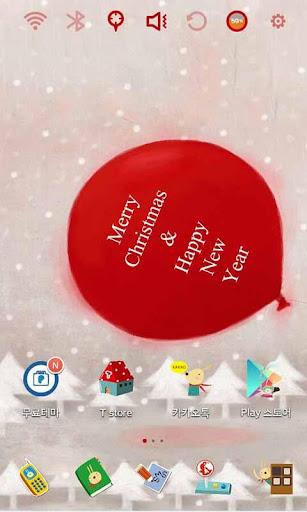 에치의 빨간 크리스마스 런처플래닛 테마