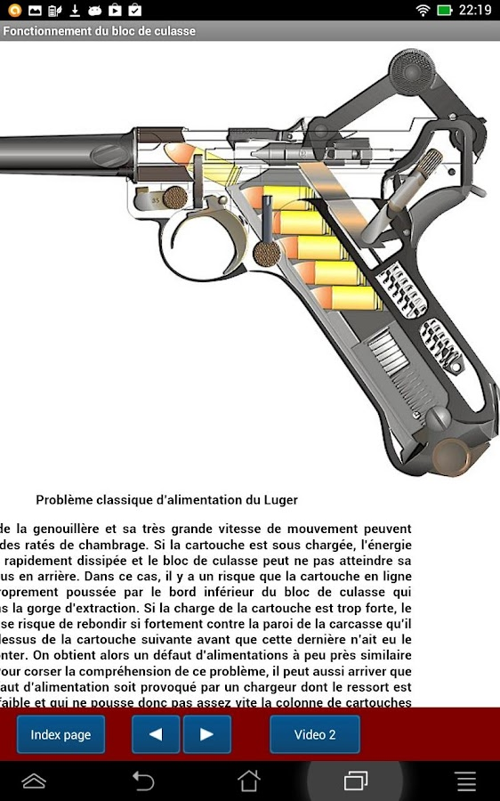 Mécanique du pistolet Luger- screenshot