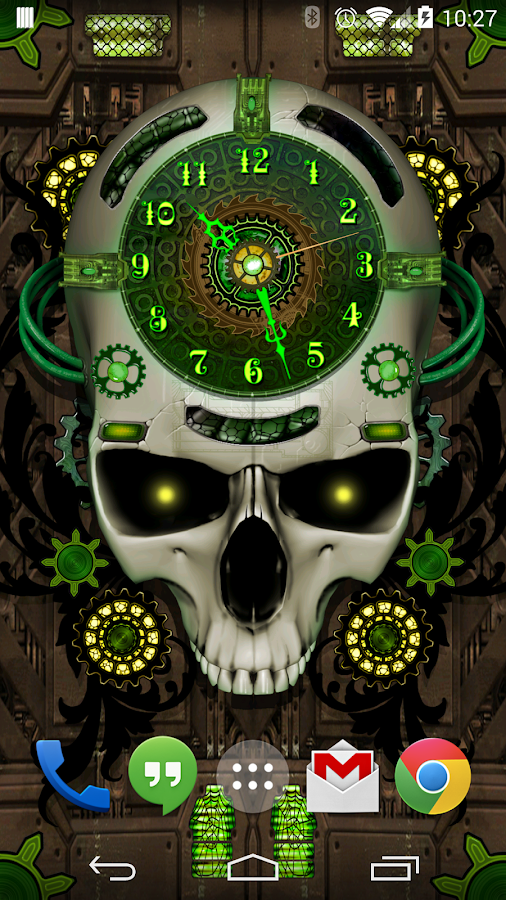Steampunk Clock Live Wallpaper- screenshot