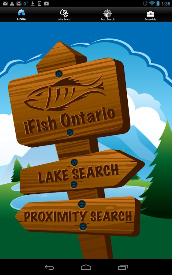iFish Ontario- screenshot
