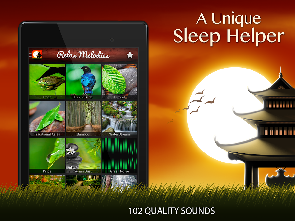 Relax Meditation: Sleep Sounds- screenshot