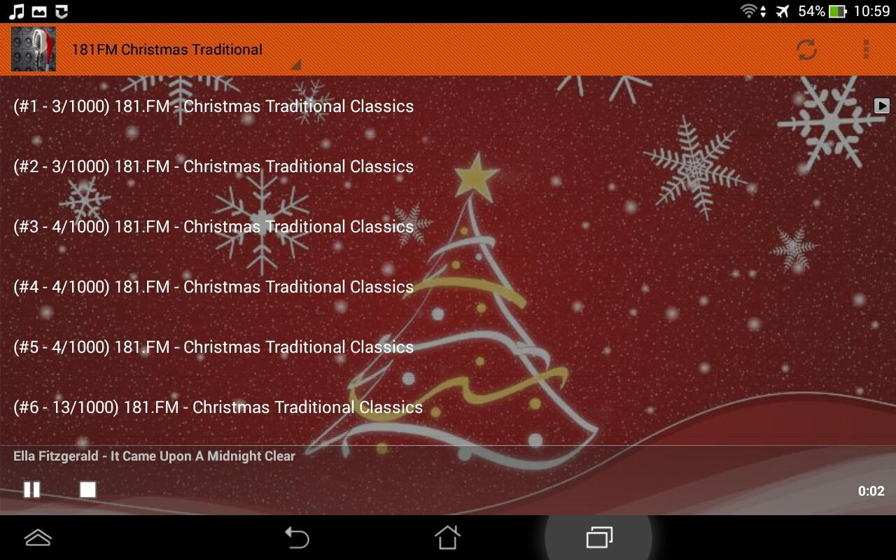 Christmas Music Radio Stations   screenshot uTyzTWA3