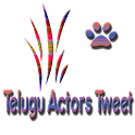 Telugu Actors Tweets logo