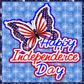 Independence Day Butterfly LWP logo