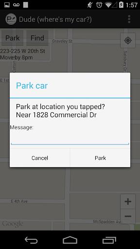 【免費生活App】Dude (where's my car)-APP點子