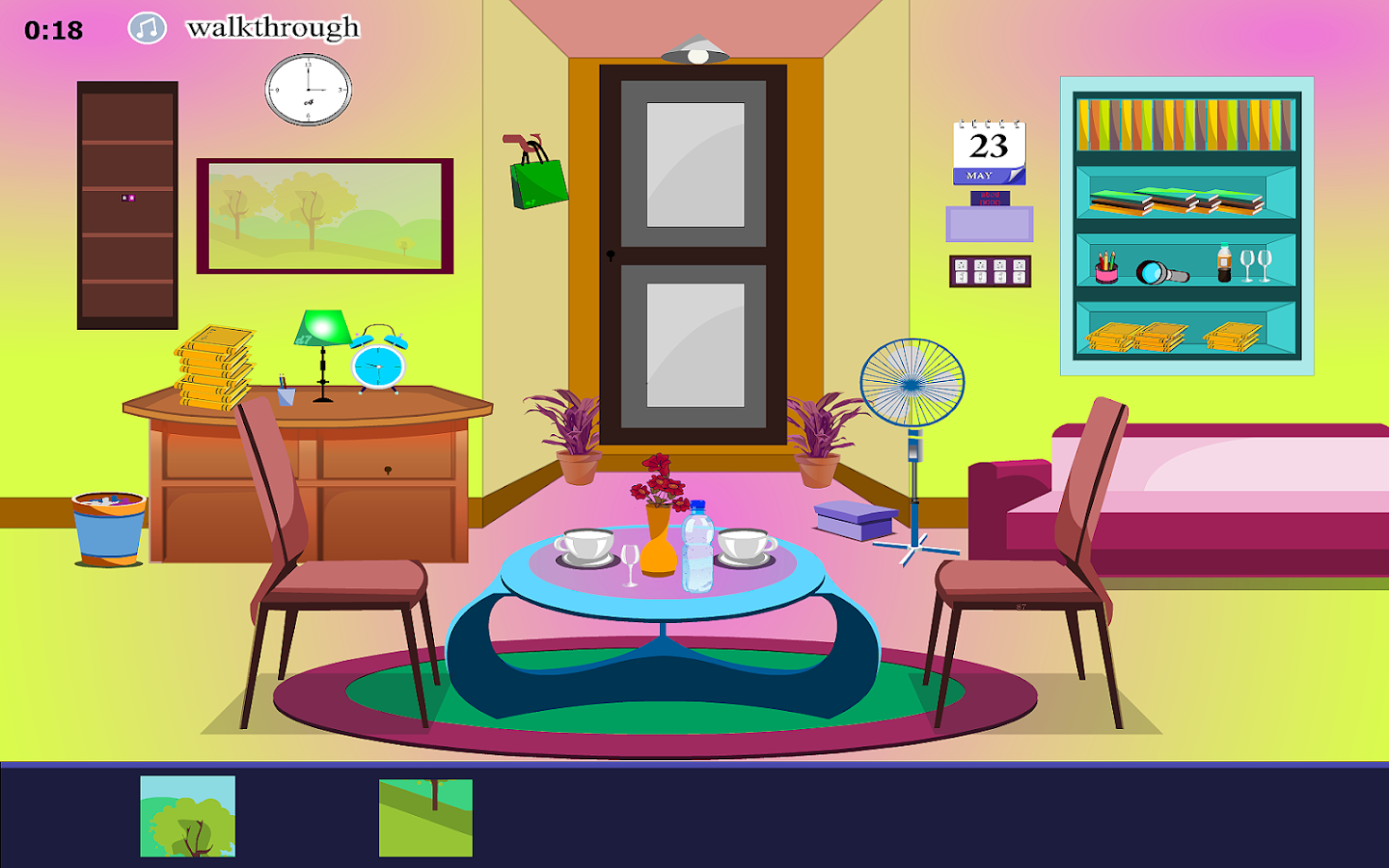 Escape one dining room android apps on google play for Salle a manger dessin anime