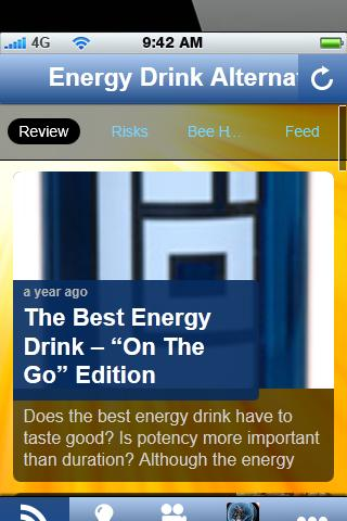 Energy Drink Alternative.