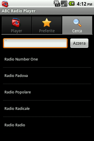 ABC Radio Player- screenshot