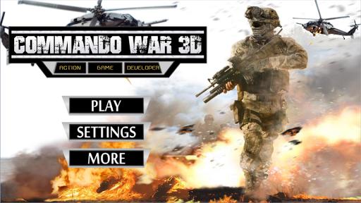Commando War 3D