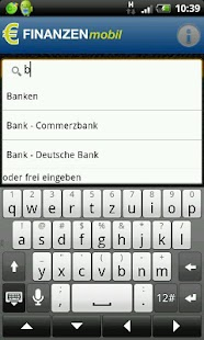 FINANZEN mobile- screenshot thumbnail