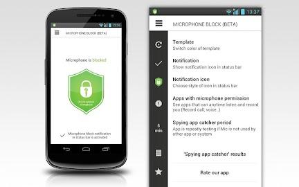 Mic Block - Anti spy & malware Screenshot 41