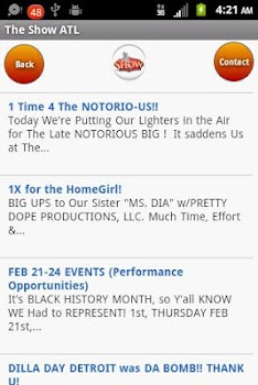 The Official Show ATL App
