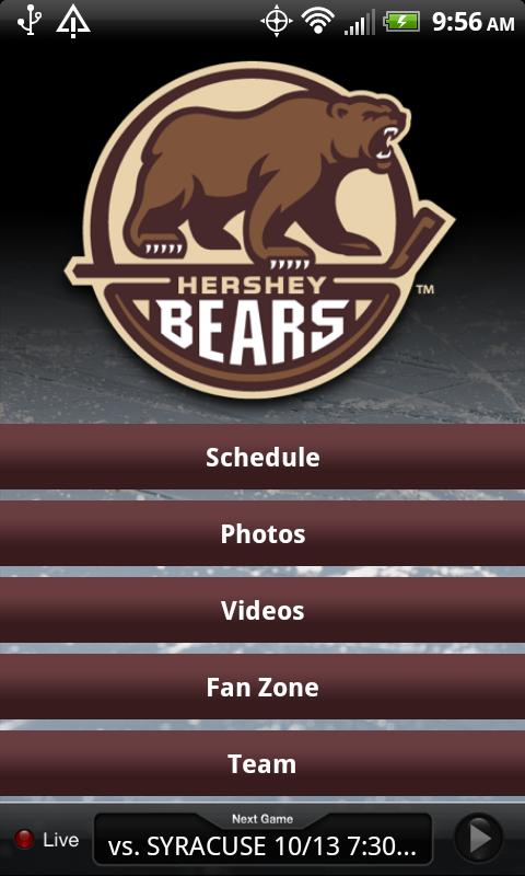 Hershey Bears - screenshot
