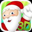 Santa Jump 3D icon