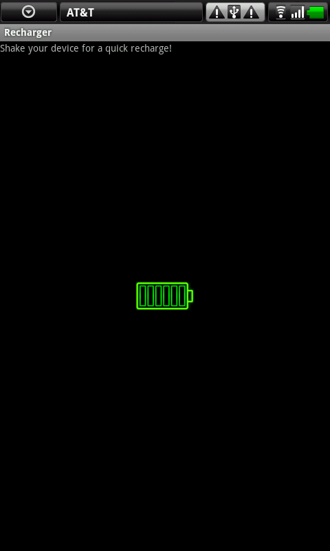 Battery Recharger - screenshot
