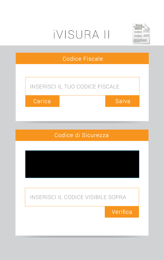 Visura catastale gratis android apps on google play for Visura catastale