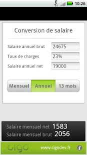 Salaire BrutNet- screenshot thumbnail
