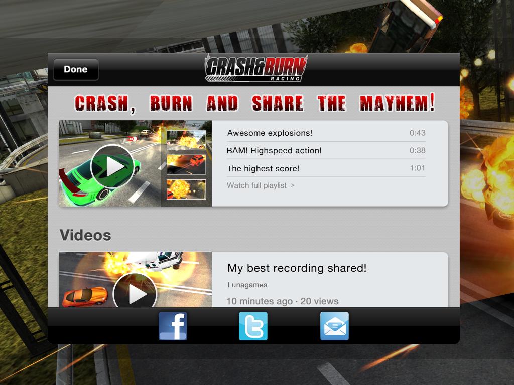 Crash and Burn Racing screenshot #8