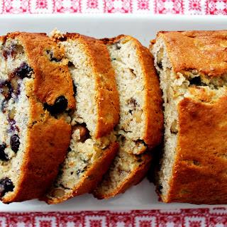 Blueberry Banana Nut Bread.