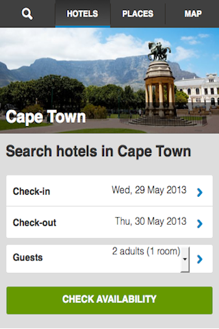 Cape Town Hotels Booking Cheap