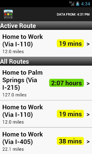 Sigalert - Traffic Reports Screenshot
