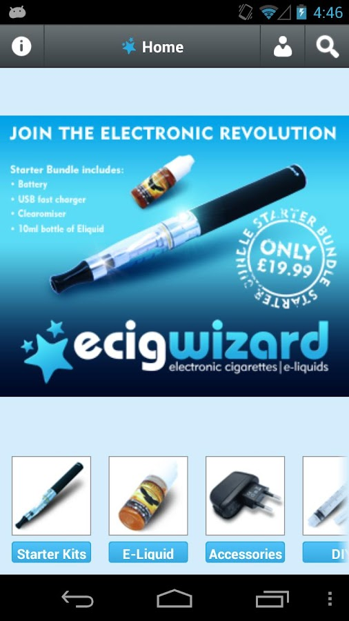 ecigwizard- screenshot