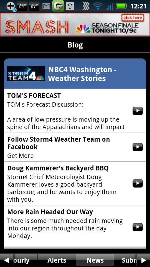 NBC4 Weather - screenshot