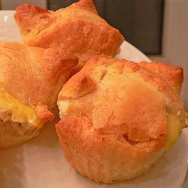 Ham and Cheese Puffs Recipe