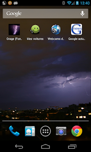 Storm (Live wallpaper) - screenshot thumbnail