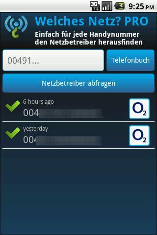 Welches Netz? - screenshot