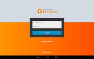 Screenshot of Kameram