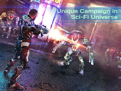 Dead Earth: Sci-fi FPS Shooter v1.9